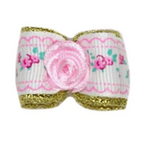 Flower Dog Bow ~ Mint - Le Pet Luxe