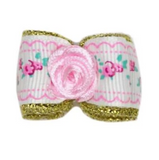 Flower Dog Bow ~ Pink - Le Pet Luxe