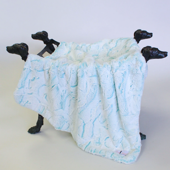 Whisper Dog Blanket ~ Lily
