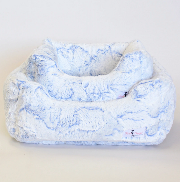 Whisper Dog Beds ~ Blue Lotus