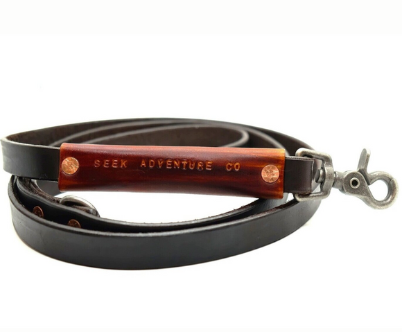 Espresso Dog Leash