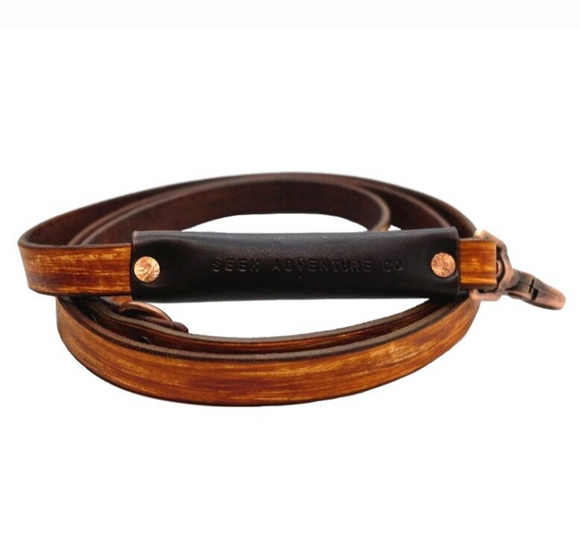 Woodgrain Dog Leash