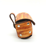Wood Grain Dog Clutch