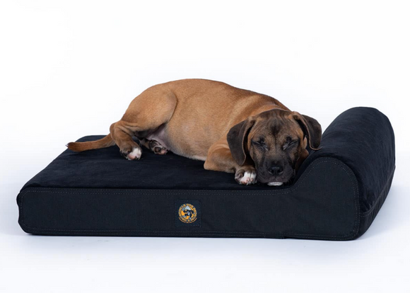Ultra Vel Tough Bolster Orthopedic Dog Bed™-Rectangular