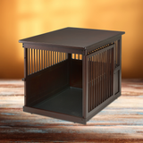 Wooden End Table Crate - Le Pet Luxe