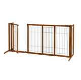 Deluxe Freestanding Pet Gate - Le Pet Luxe