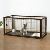 Expandable Pet Crate {Removable Floor Tray} - Le Pet Luxe