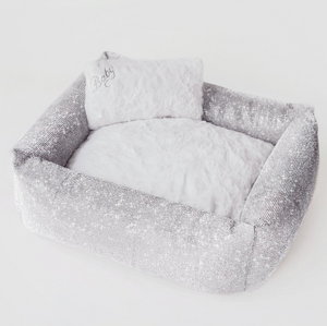 Crystal Dog Bed - Imperial - Le Pet Luxe