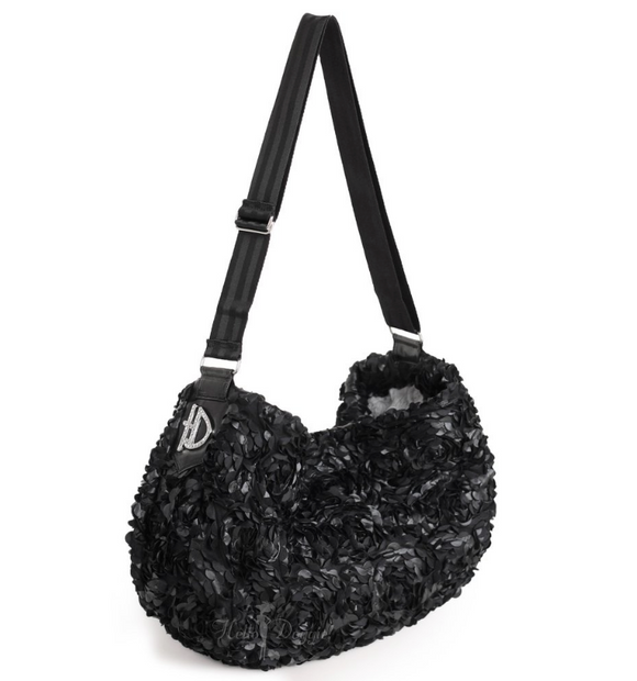 Victorian Luxury Sling Black - le-pet-luxe