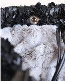 Victorian Luxury Sling Black - Le Pet Luxe