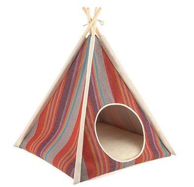 Teepee Tent Pet Bed- Desert - Le Pet Luxe