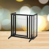 Premium Plus Freestanding Pet Gate - le-pet-luxe