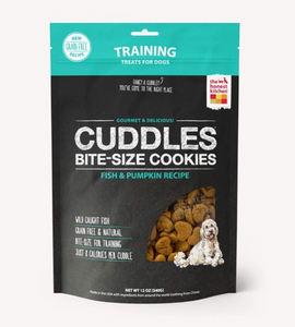 Honest Kitchen The Dog Grain Free Training Treats (Fish & Pumpkin) - le-pet-luxe