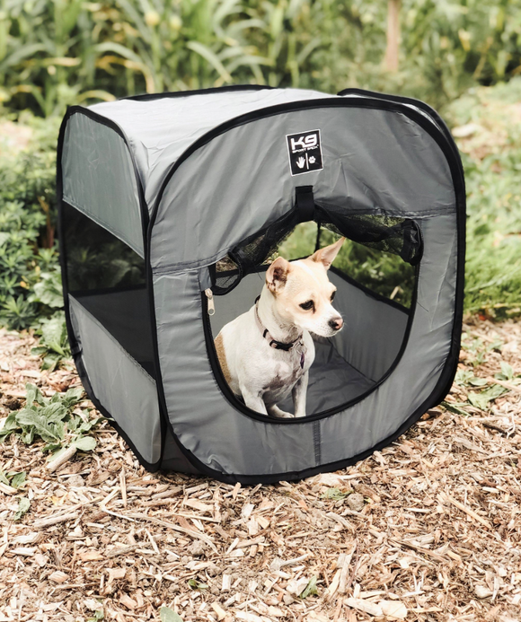 K9 Sport Shack Pop-Up Dog Tent - le-pet-luxe