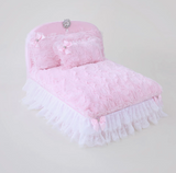 Enchanted Nights Dog Bed - Snow White - le-pet-luxe