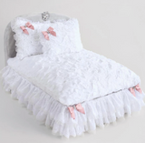 Enchanted Nights Dog Bed - Snow White - Le Pet Luxe