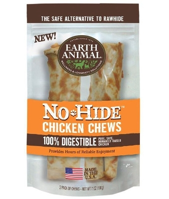 Earth Animal No Hide Chicken Chews Dog Treats - le-pet-luxe