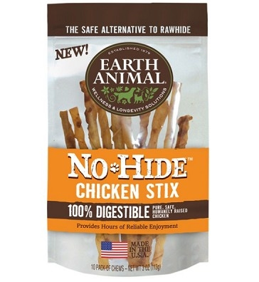Earth Animal No Hide Chicken Stix Dog Treats - 10 pack - Le Pet Luxe