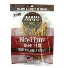 Earth Animal No Hide Beef Stix Dog Treats - 10 pack - Le Pet Luxe
