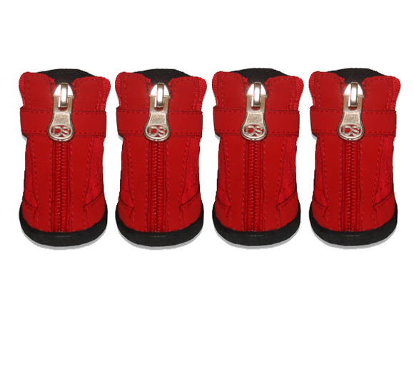 Basic Hiker Boots - Red - Le Pet Luxe