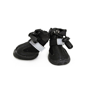 All Weather Dog Boots - Black - Le Pet Luxe