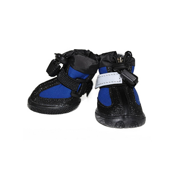 All Weather Dog Boots - Blue - le-pet-luxe