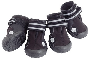 Trail Trackers Boots - Black - Le Pet Luxe