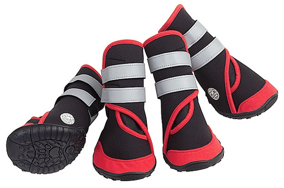 Trail Trackers Boots - Red - Le Pet Luxe