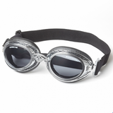 Doggles Sidecar ~ Silver Chrome - Le Pet Luxe