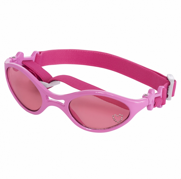 Sunglasses Rubber ~ Shiny Pink Frame/Pink Lens - le-pet-luxe