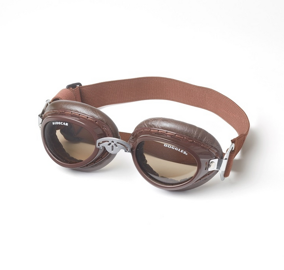 Doggles Sidecar ~ Copper - le-pet-luxe