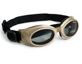 Doggles Originalz - Black Frame, Smoke Lens - Le Pet Luxe