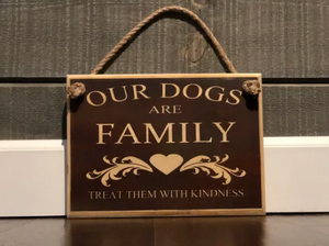 Our dogs are family - le-pet-luxe