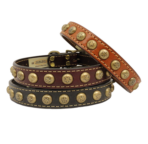Heirloom Star Dog Collar - Le Pet Luxe