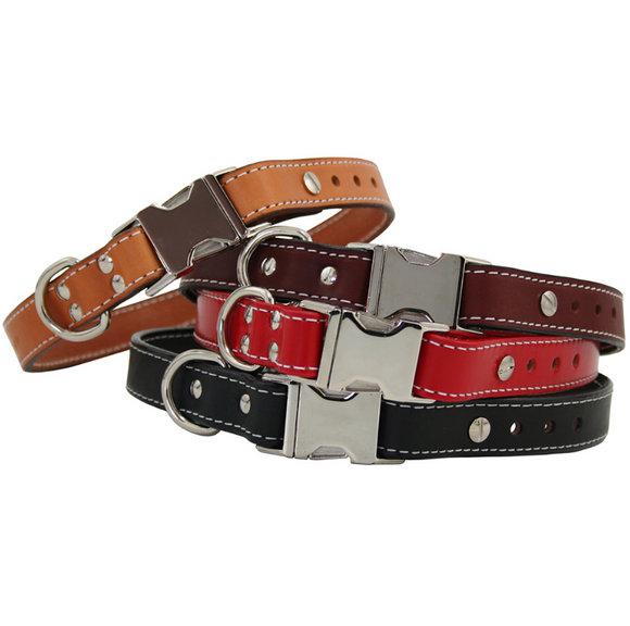 Seneca Adjustable Dog Collar - Le Pet Luxe