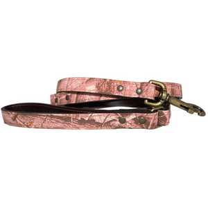 Camouflage Leash ~ Pink - Le Pet Luxe