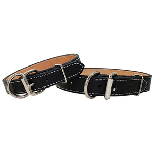 GI Leather Dog Collar - Le Pet Luxe