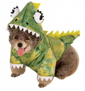 Rubies Dinosaur Green Dog Costume - Le Pet Luxe