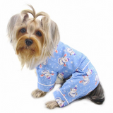 Snowman & Snowflake Flannel Pajamas with 2 Pockets - Le Pet Luxe
