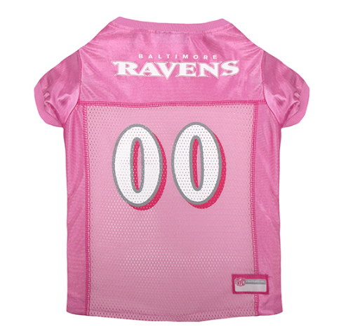 Baltimore Ravens - Pink Mesh Jersey - le-pet-luxe