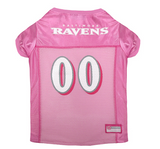 Baltimore Ravens - Pink Mesh Jersey - Le Pet Luxe
