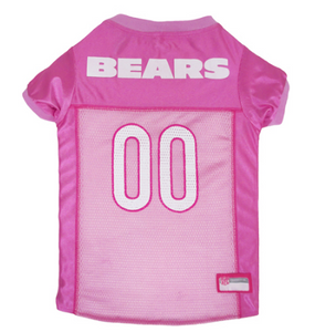Chicago Bears - Pink Mesh Jersey - le-pet-luxe