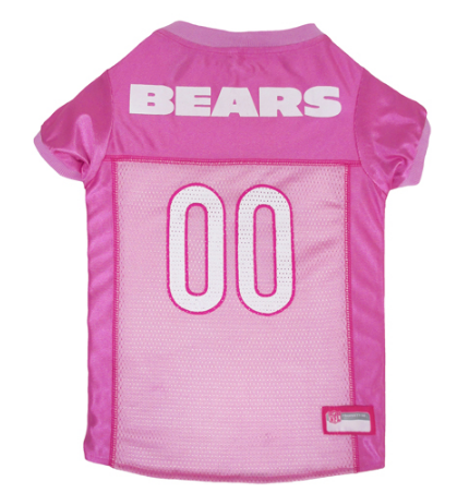 Chicago Bears - Pink Mesh Jersey - Le Pet Luxe