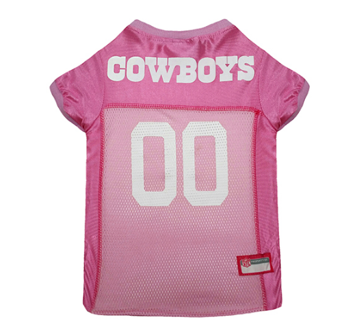 Dallas Cowboys - Pink Mesh Jersey - Le Pet Luxe