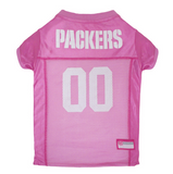 Green Bay Packers - Pink Mesh Jersey - Le Pet Luxe