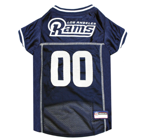 Los Angeles Rams - Dog Mesh Jersey - Le Pet Luxe