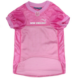 New England Patriots - Pink Mesh Jersey - Le Pet Luxe
