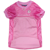 Pittsburgh Steelers - Pink Mesh Jersey - Le Pet Luxe
