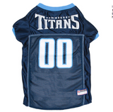 Tennessee Titans - Dog Mesh Jersey - Le Pet Luxe