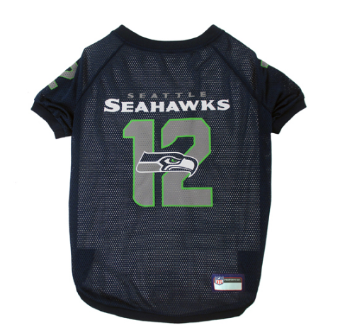 Seattle Seahawks - 12th Man Dog Mesh Jersey - Le Pet Luxe